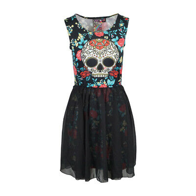 NewBreed Girl Day Of The Dead Womens Cocktail - Day Of The Dead Attire