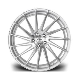 "19"" Riviara RV199 Silver Alloy Wheels.Suit Audi A3,VW Caddy,Golf,Jetta, Passat,Seat Leon 5x112"