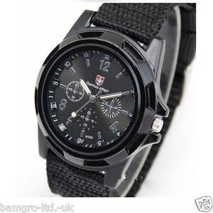 Swiss-flag-gemius-ARMY-Mens-fabric-Military-Sport-Quartz-Watch-glow-hand-gift-30