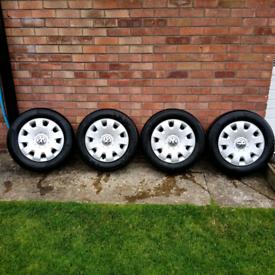 """Volkswagen Caddy 15"""" Wheels, Tyres & Wheel Trims"""