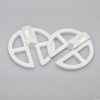 Rondo*Segelschoner*KST Weiß 2-teilig*Segelabweiser*weiß*UV stabiler Kunststoff*