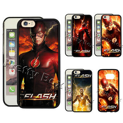 The Flash Arrow Phone Case For Iphone 8  5Se 6 7 Plus S9  S7 Edge Note 8 5 Cover
