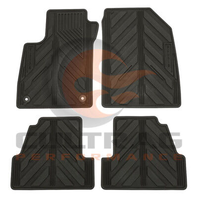 2013 2018 Buick Encore GM Front  Rear All Weather Floor Mats Black 42364956