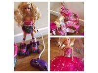 Barbie doll & accessories bundle