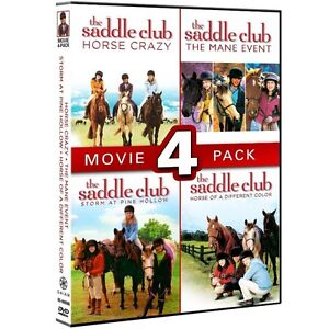 Looking for Saddle Club DVDs for children.