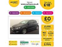 Volkswagen Polo 1.2 .FROM £18 PER WEEK.
