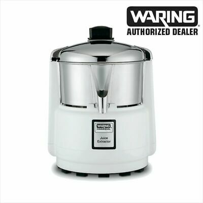 Waring 6001c Commercial Juicer Extractor With Stainless Bowl Cover