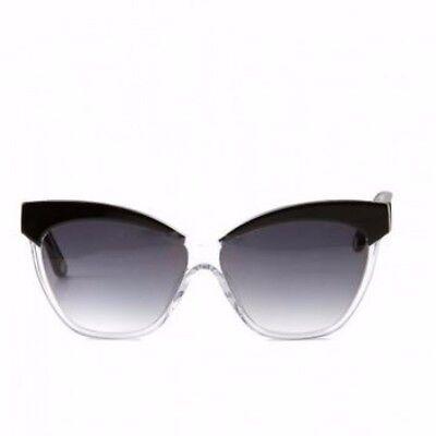 Tatyana Archie's Sunglasses Retro 40s 50s Cat Black Hard Case Boardwalk NEW