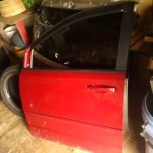 DODGE GR CARAVAN DRIVER DOOR 2010