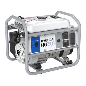 New Hyundai HG1500, 1500 Watt Portable Gas Powered Generator