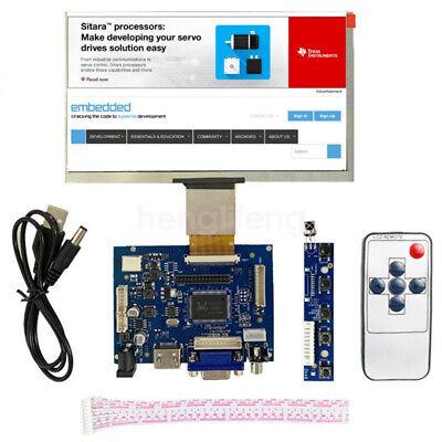 New 10.1 Inch Lcd Display Module Hdmivga2av Driver Board For Raspberry Pi