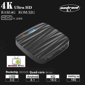 T98 Android 8.1 TV Box Rockchip RK3328 Quad-Core 4GB RAM 32GB RO Doveton Casey Area Preview