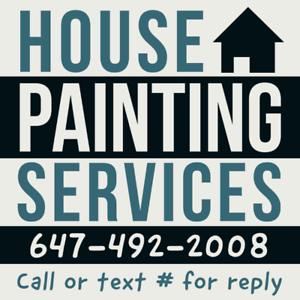 Painters for Mississauga/Brampton/Toronto/oakville