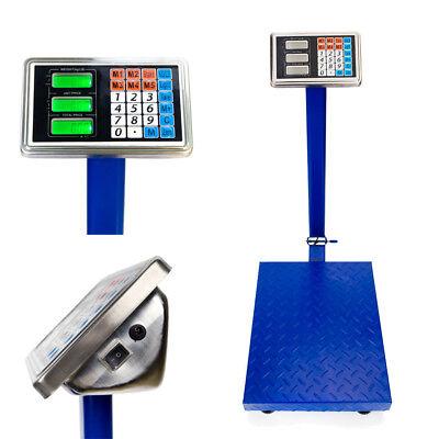 Heavy Duty 660lb 300kg Industrial Platform Postal Weighing Scales Parcel