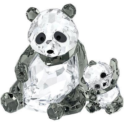 Swarovski Panda Mother with Baby # 5063690 New in Original Box