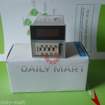 Omron Timer H5cn-xdnm H5cnxdnm 100-240vac Original New In Box Free Ship