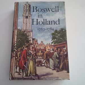 Boswell in Holland, 1763-1764