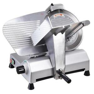 "110V Commercial Electric Meat Slicer 10"" Blade 240w (020329)"