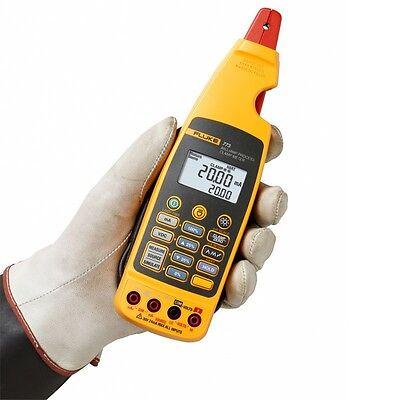 Fluke 773 Milliamp Process Clamp Meter Ma Sourcemeasure. Dual Backlit Display