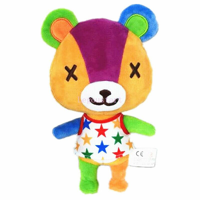 "New Animal Crossing Stitches 8"" Plush Toy Stuffed Doll Figure Little Buddy Gift"