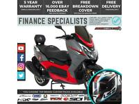 Lexmoto Chieftain 125 125cc Scooter FINANCE | UK DELIVERY | Large Cheap Scooter