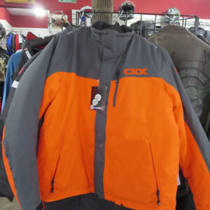 CKX Snowmobile Jackets Red/White or Orange Grey Only $120