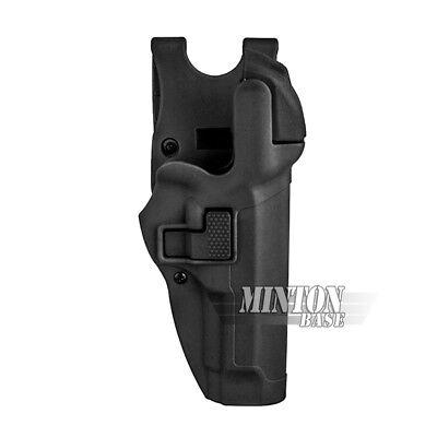Serpa Level 3 Right Hand Auto Lock Duty Waist Holster for Beretta 92 96 M9