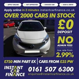 Nissan Note Acenta Premium Mpv 1.2 Manual Petrol LOW RATE FINANCE AVAILABLE