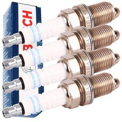 4x BOSCH ZÜNDKERZE 0242235666 SUPER PLUS +8 FR7DC+ RENAULT CITRÖEN PEUGEOT online kaufen