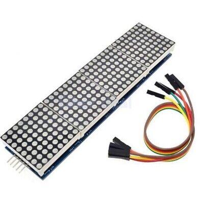 Dot Matrix Mcu Control Led Display Module Max7219 For Arduino Raspberry Pim Hq D