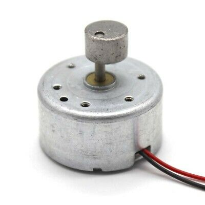 Miniature Metal Eccentric Dc Motor 300 Vibration Motor With Line 3v-6v Diy