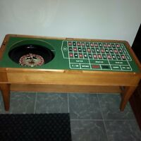 Solid Hardwood 3 in 1 Casino Table
