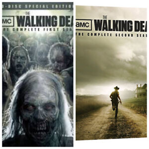 The Walking Dead Complete Season 1 & 2 dvd sets