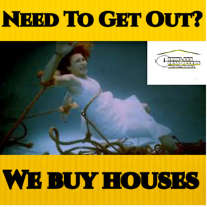 90% of people we help are over budget financially, we buy houses