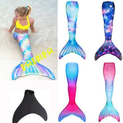 Badeanzug Monoflosse Kostüm Damen Kinder Meerjungfrau Schwanz Bademode - Damen Schwimmen Kostüme