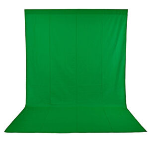 Backdrop Background for Photography,Video (Green)
