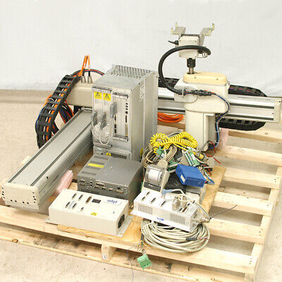 Adept 90400-10100 100cm Linear 4 Axis Xyz Robot Module With Mv-4pa-4 Controller