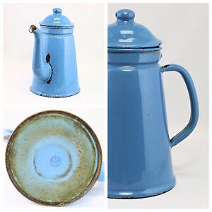 Enamel Coffee and Tea Pots