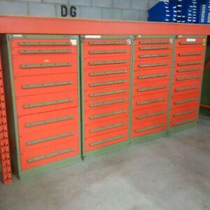 Rousseau Metal Heavy Duty Modular Drawer Cabinet