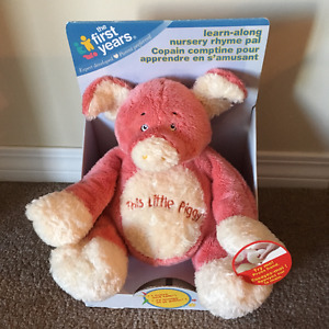 The First Years This Little Piggy Rhyme Stuffed Toy