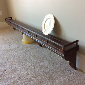 "90"" decorative plate rack"