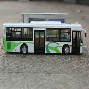 1:43 City Bus Luxury Travel Tourist Bus Model On Selling 200055
