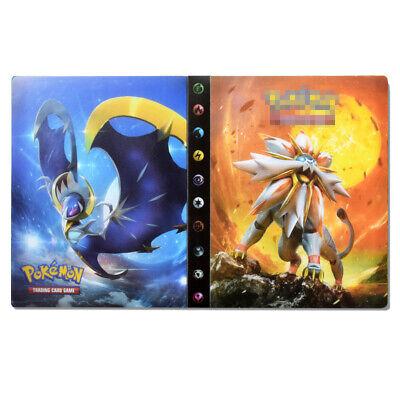 240 Cards Capacity Holder for Pokemon Card Album Binder Folder Book List Sunmoon