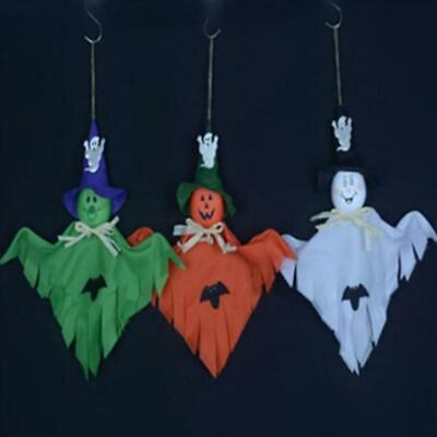 Cute Ghost Hanging Hangtag Halloween Decorations Kids Toys Funny Joking Props W - Cute Kid Halloween Decorations