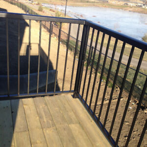 Selling you welded aluminum railing supply and install. Quality