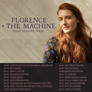 FLORENCE & THE MACHINE - EXCELLENT LOWER BOWL BELOW COST!