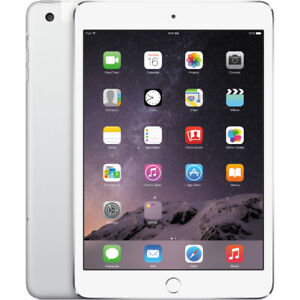 iPAD AIR WI-FI CELLULAR 64GB SILVER WITH BOX EXCELLENT CONDITION