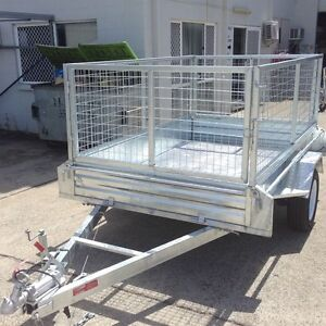 7ftx 5ft - GALVANISED BOX TRAILER 1500KG RATED. Braked From $46wk Rocklea Brisbane South West Preview