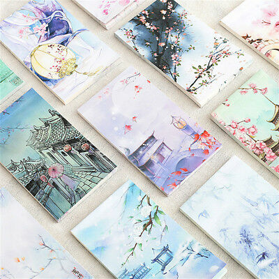 60 Sheets Memo Pad Stationery Scrapbooking Memo Notes Office School Supplies