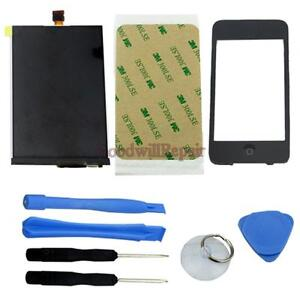 FOR iPod Touch 3G Touchscreen LCD Display Glas + Homebutton+TOOLS